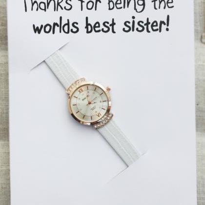 Thanks for being Best Sister Ever P..