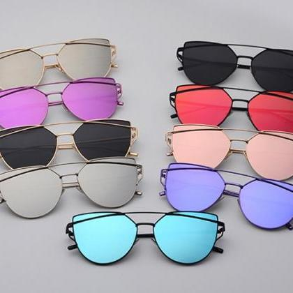 Transparent Lenses Cat Eye Sunglass..