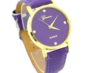 Cute Floral Teen Girl Purple Party Watch