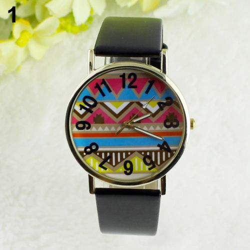 Colorful festival party unisex black watch