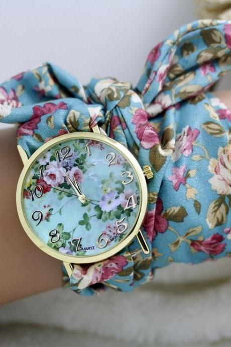 Cute holiday gift fashion teen girl watch