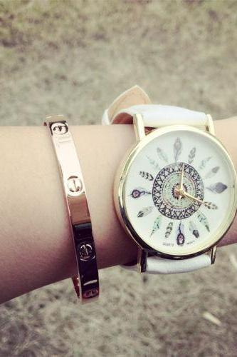 Indian vintage retro style unisex watch
