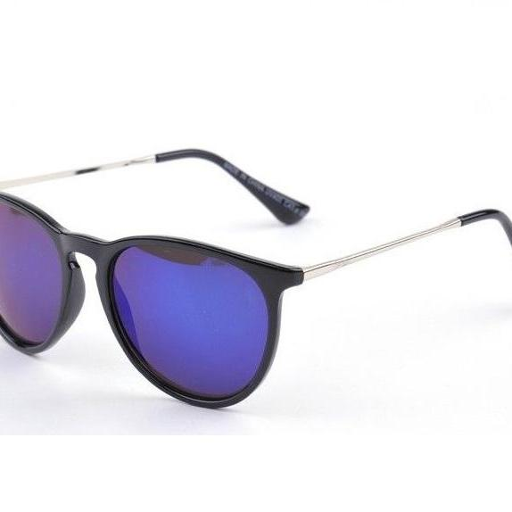 Fashion design blue lenses unisex sun protector cool sunglasses