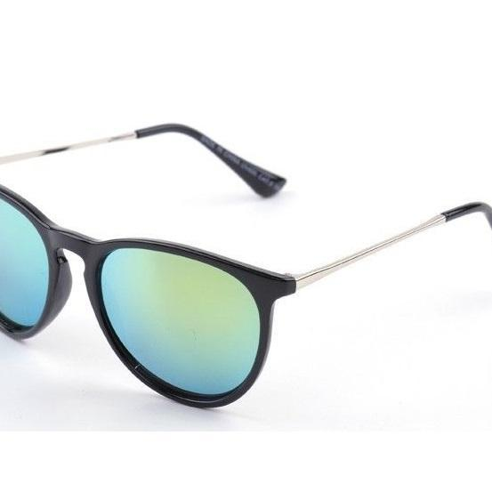 Fashion design green unisex sun protector cool sunglasses