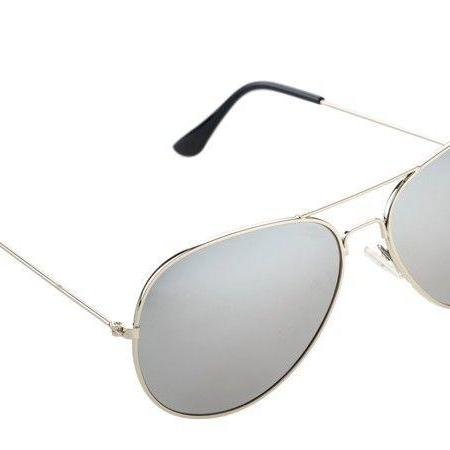 Pilot fashion summer gray sun protector unisex sunglasses