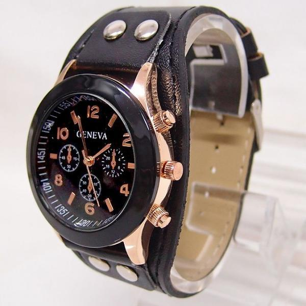 Casual School black Girl Trendy Watch