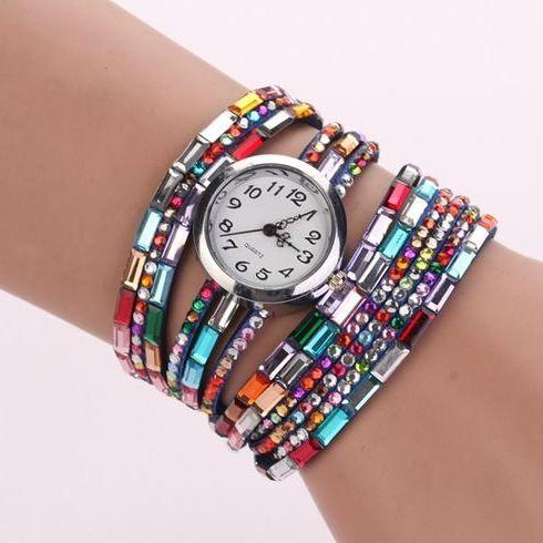 HIppie casual festival cool girl watch