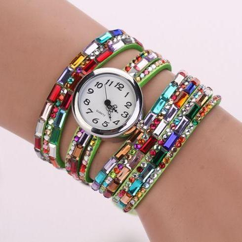 HIppie fashion party girl watch