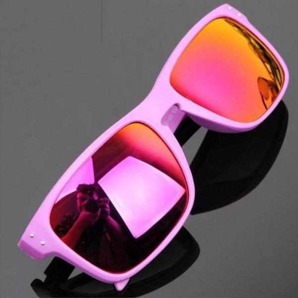 Adrenaline sports adventure summer time unisex pink sunglasses